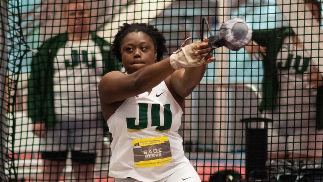 Jacksonville University redshirt junior Sade Meeks was named the ASUN's female student-athlete of the year.