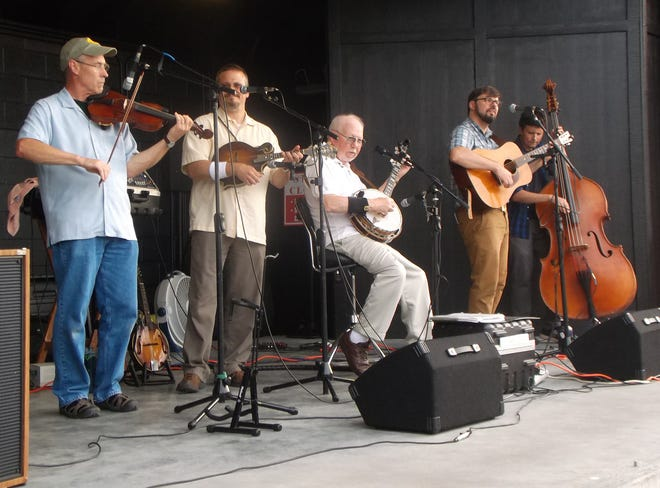 Bobby and Blue Ridge Tradition headlined a Street Dance in July 2019. This summer, people young and old will make their way to the Visitor Center in downtown Hendersonville to experience mountain heritage bluegrass music, square dancing and clogging on July 12, July 26, Aug. 9 and Aug. 23 from 7-9 p.m. Bobby and Blue Ridge Tradition will perform July 26 and Aug. 23.