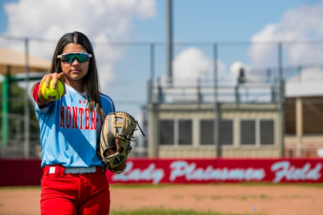 Monterey pitcher Anays Perez is the Lone Star Varsity softball newcomer of the year.