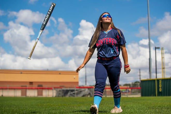 Monterey third baseman Tatiana Trotter is the Lone Star Varsity softball player of the year.