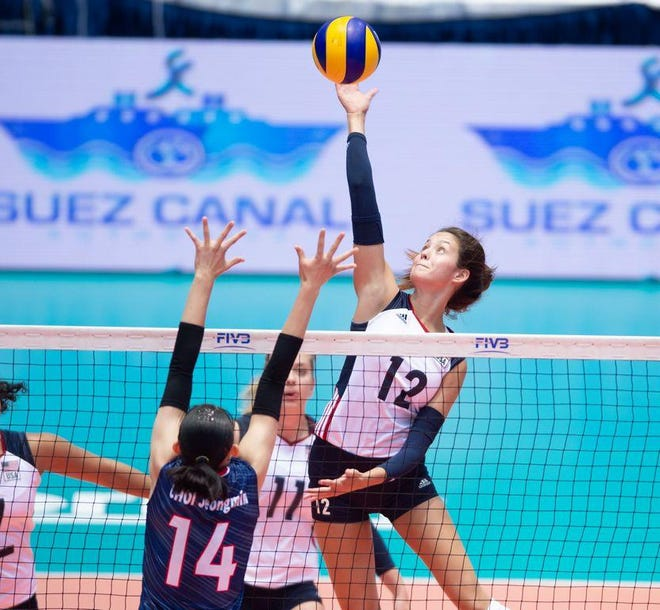 Caroline Crawford and Team USA's U20 women's volleyball team will play for 5th-8th place at the U20 World Volleyball Championship in Belgium and the Netherlands.