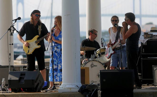Cee Cee & The Riders perform in Newport.