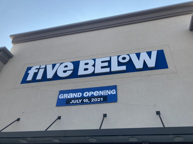 Five Below announces its grand opening is July 16, 2021 at Main Street Oak Ridge.