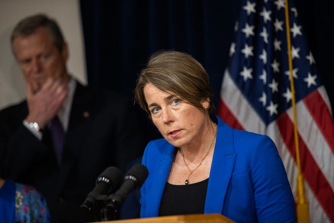 """Massachusetts Attorney General Maura Healey: """"What is comes down to is making sure as a state we're doing everything possible to get people vaccinated to prevent future risk from the virus."""""""