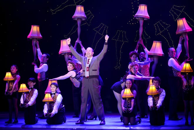 """Christopher Swan in a scene from the musical """"A Christmas Story."""""""