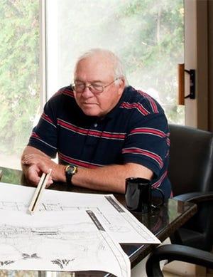 Harold Jack Begrow, local architect
