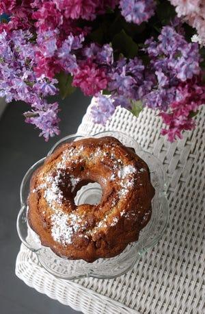 A Blueberry Bundt Cake was created by innkeeper Mary Ellen Newbury of the Admiral Weaver Inn in Newport. back in 2003.