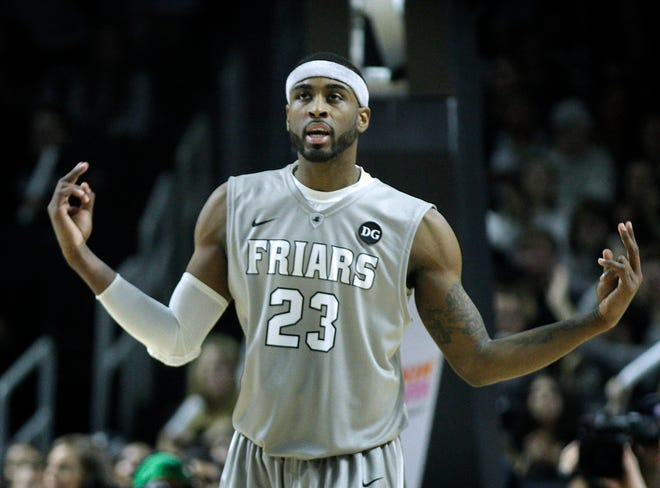 LaDontae Henton, shown in a 2015 game in Providence, is returning to Providence, this time as a special assistant to head coach Ed Cooley.