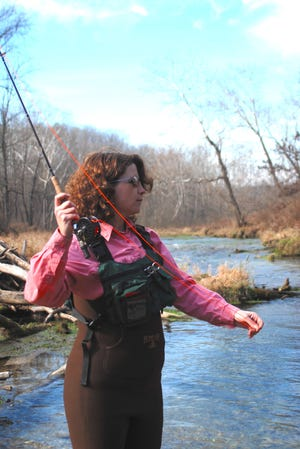 Thousands of women are joining the fly fishing ranks every year, drawn by the special challenges it presents.