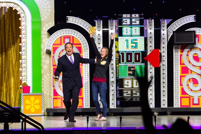 'The Price is Right' wheel.