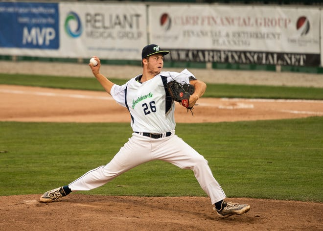 Right-hander Luke Delongchamp is 1-1 with a 1.80 ERA for the Bravehearts entering his scheduled start Thursday against Nashua.