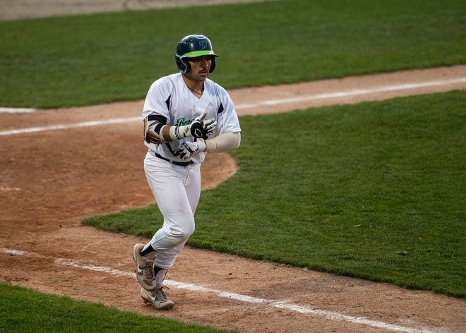 The Bravehearts' Gavin Noriega raised his batting average to .353 with his 4-for-5 night against Nashua.