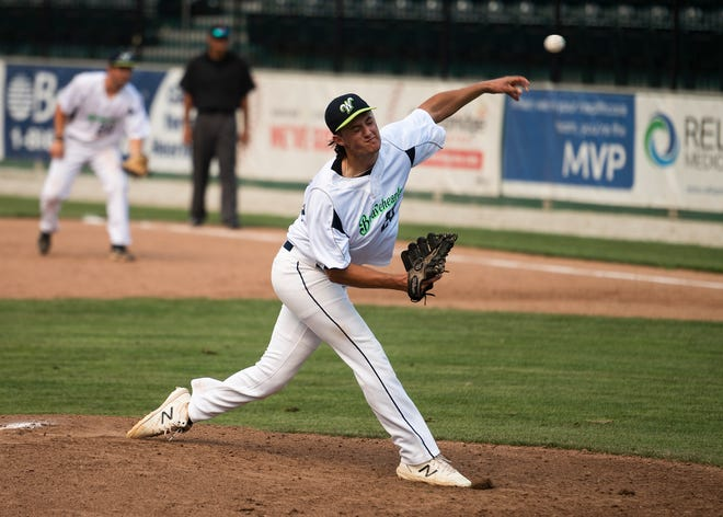 Bravehearts right-hander Tyler Nielsen allowed only one earned run in five innings of Wednesday's loss at Westfield.