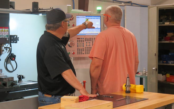 Employees from several Arkansas industries are enhancing their knowledge of machining during a summer program hosted by Arkansas Tech University – Ozark Campus.