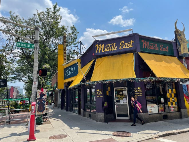 After closing at the start of the pandemic in March 2020, Middle East Restaurant and Nightclub, located at 472-480 Massachusetts Ave., has since reopened with limited hours, staff and menu.