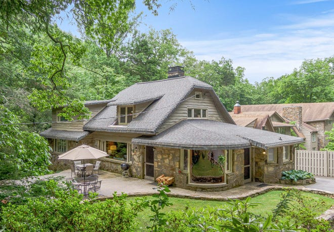 Billy Graham and his family lived in this four-bedroom, two-bath Montreat home for nearly two decades. It is currently for sale.
