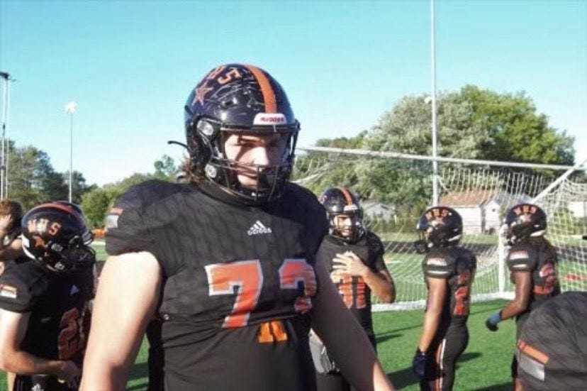 Eastlake North's Ryan Baer is ranked the No. 13 2022 recruit in the state. He helped Eastlake North rush for over 300 yards per game and did not surrender a sack. He holds a number of Power 5 offers.