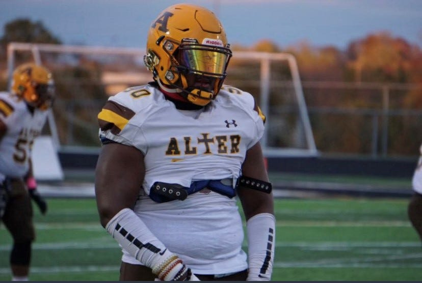 Kettering Alter's Derrick Shepard is a four-star defensive lineman who is committed to the University of Cincinnati.