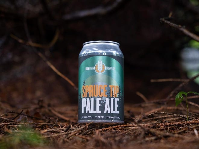 The HighGrain Brewing Spruce Tip Pale Ale was made in collaboration with the Cincinnati Nature Center.