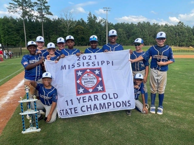 The Hattiesburg Dixie Youth Baseball 11u All-Stars swept the state championship games to move on to the invitational world series set for later in July.