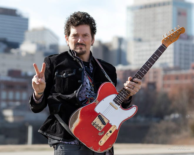 St. Louis blues guitarist Mike Zito and his band will perform live at The Washington in Burlington on Saturday at 8:30 p.m.