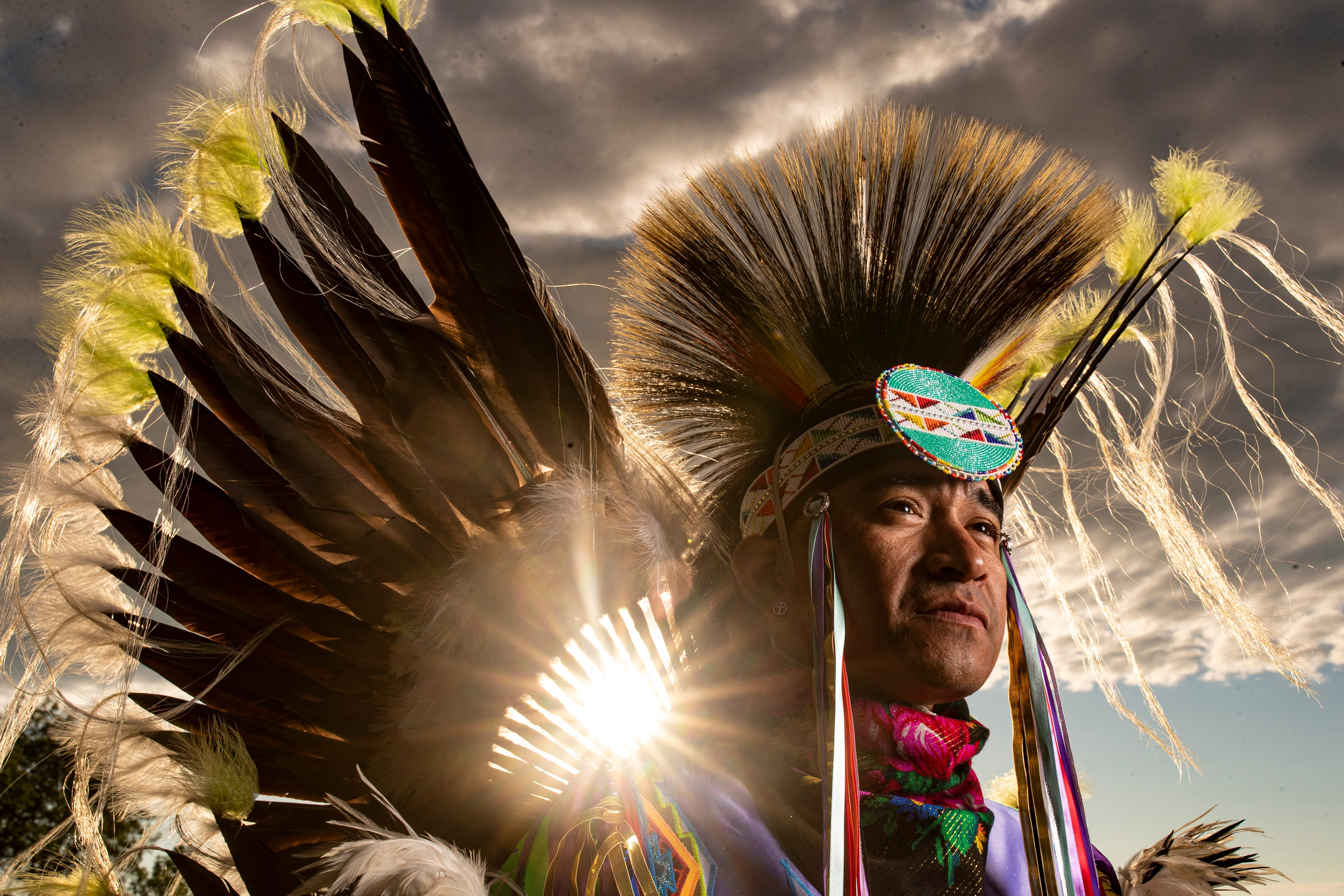 Jazz is teaching his children the power of dance in connecting to their Native American culture and identity, something he considers critical in his addiction recovery.