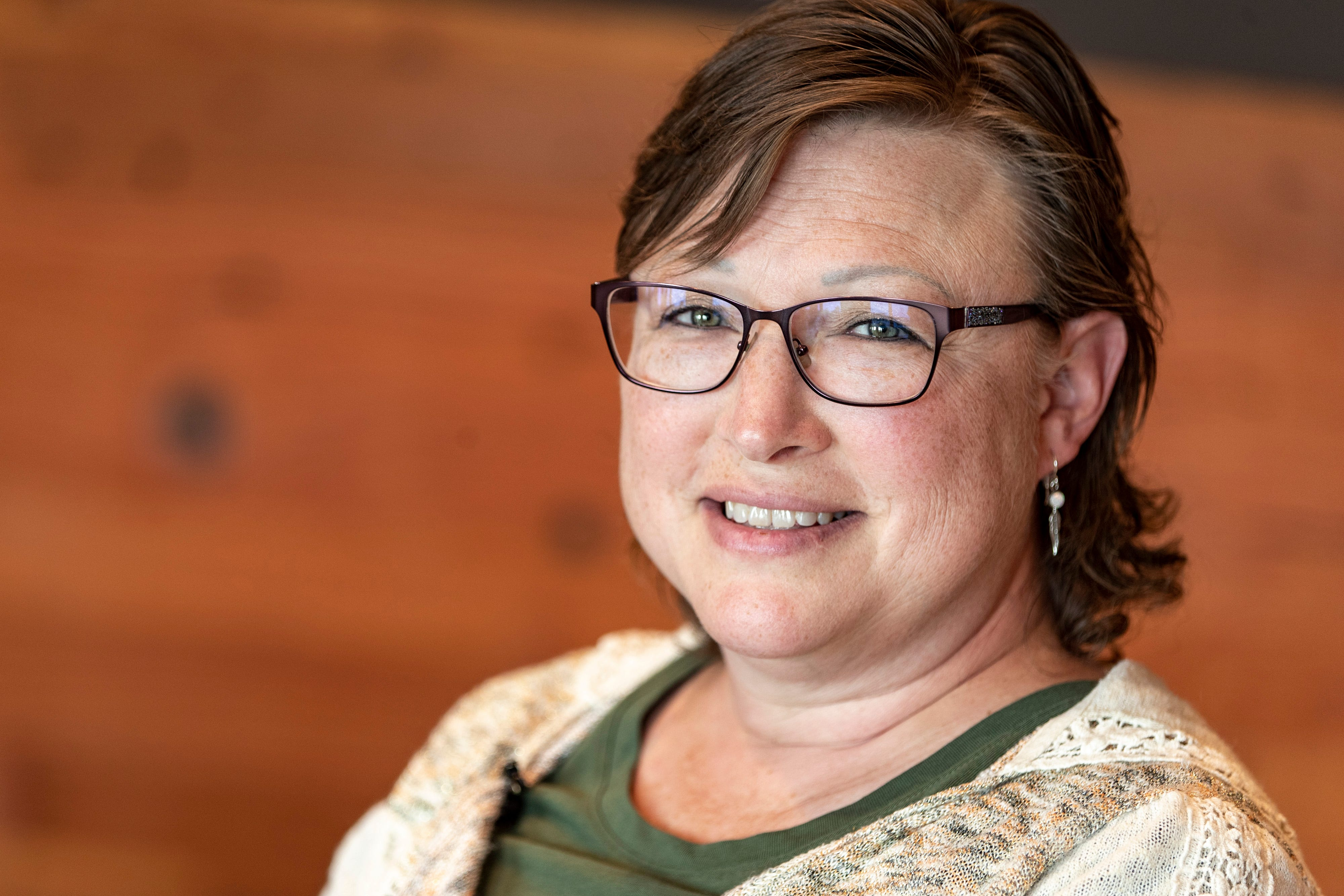 """Dr. Joy Froelich, an enrolled tribal member, is the director at the Good Road Recovery Center in Bismarck, North Dakota founded by the MHA Nation. It focuses on culture as a powerful tool in recovery. """"We are trying to bring some identity to them,"""" the doctor said. """"It helps them center."""""""