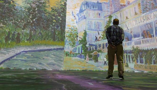 """The """"Beyond Van Gogh: An Immersive Experience"""" is generating a lot of badly needed revenue for downtown Milwaukee's Wisconsin Center."""