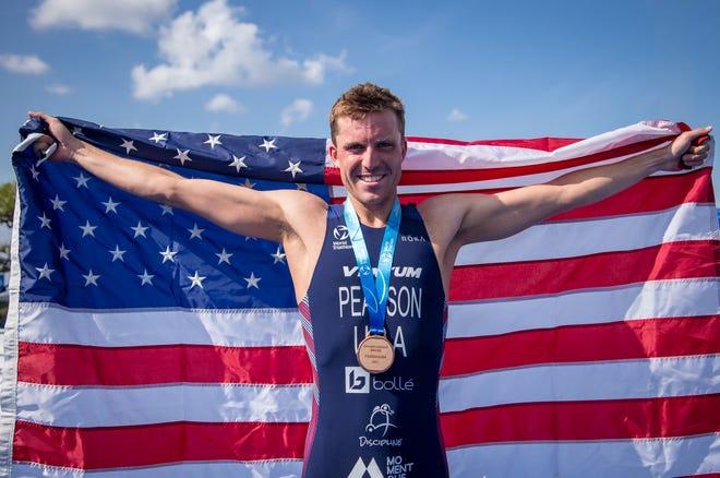 Morgan Pearson, a Delbarton graduate from New Vernon, will represent the United States in triathlon at the Olympics in Tokyo.