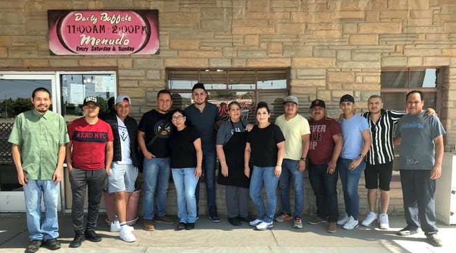 The band Legitimo made a breakfast stop at the La Fonda Restaurant, 601 E. Pine St. in Deming. The band was traveling from a show in Odessa and headed to a concert venue in Phoenix as part of its summer tour. Legitimo plays a variety of Norteno, West Texas Latin music and Tejano.