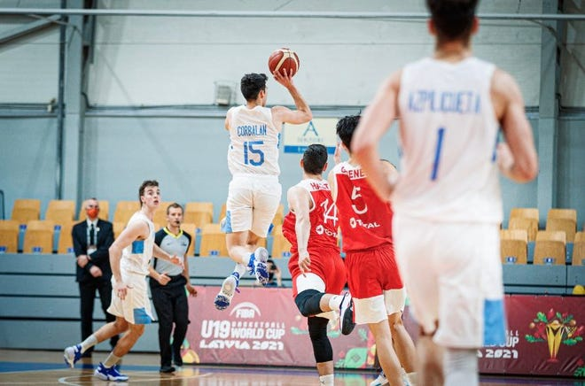 Former Las Cruces High School basketball player Gonzalo Corbalan hit the game winner for his native Argentina in the FIBA U19 World Cup.