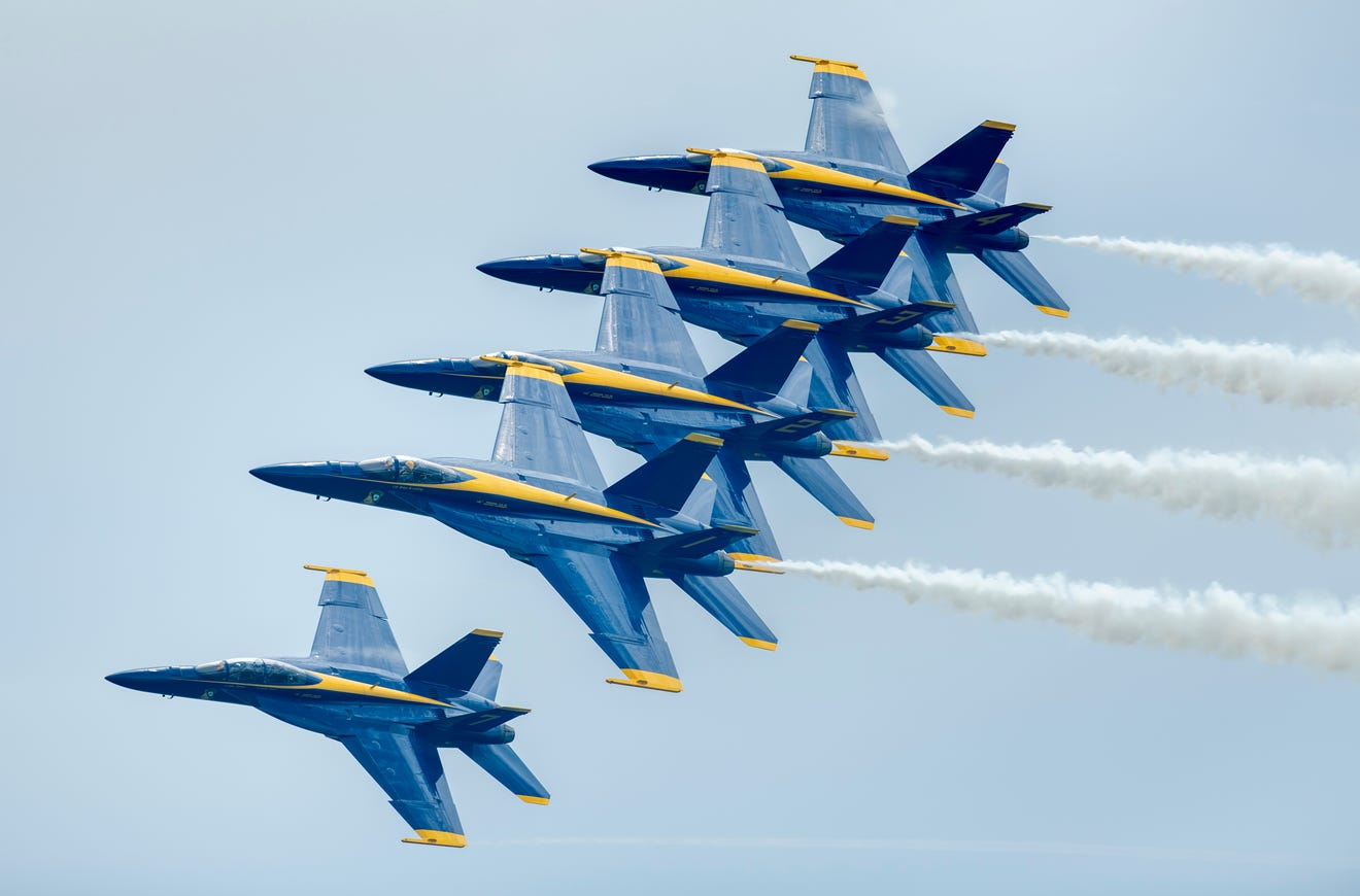 Blue Angels Pensacola Beach 2021 air show: New jets faster ...