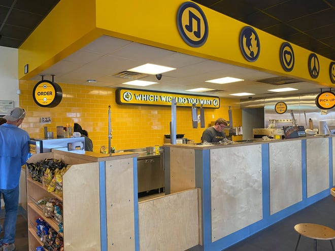 Which Wich is closing its location at59 N Koenigheim St. on Friday, July 9, 2021.