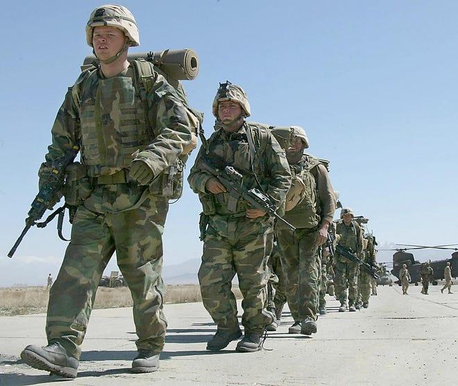 American troops leave Afghanistan after 20 years of war.