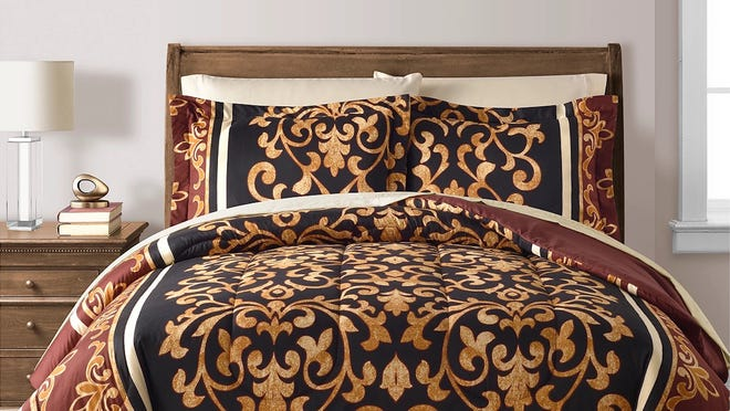 You can save hundreds on ultra-comfy bedding collections, like this Fairfield Square Collection eight-piece set, at Macy's right now.