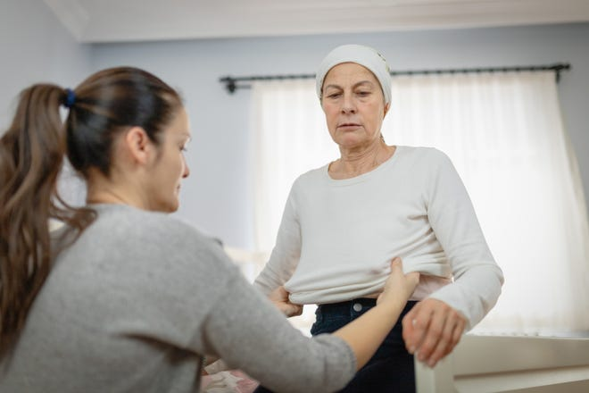"""Caring for an aging parent can lead to """"stress of caregivers."""""""