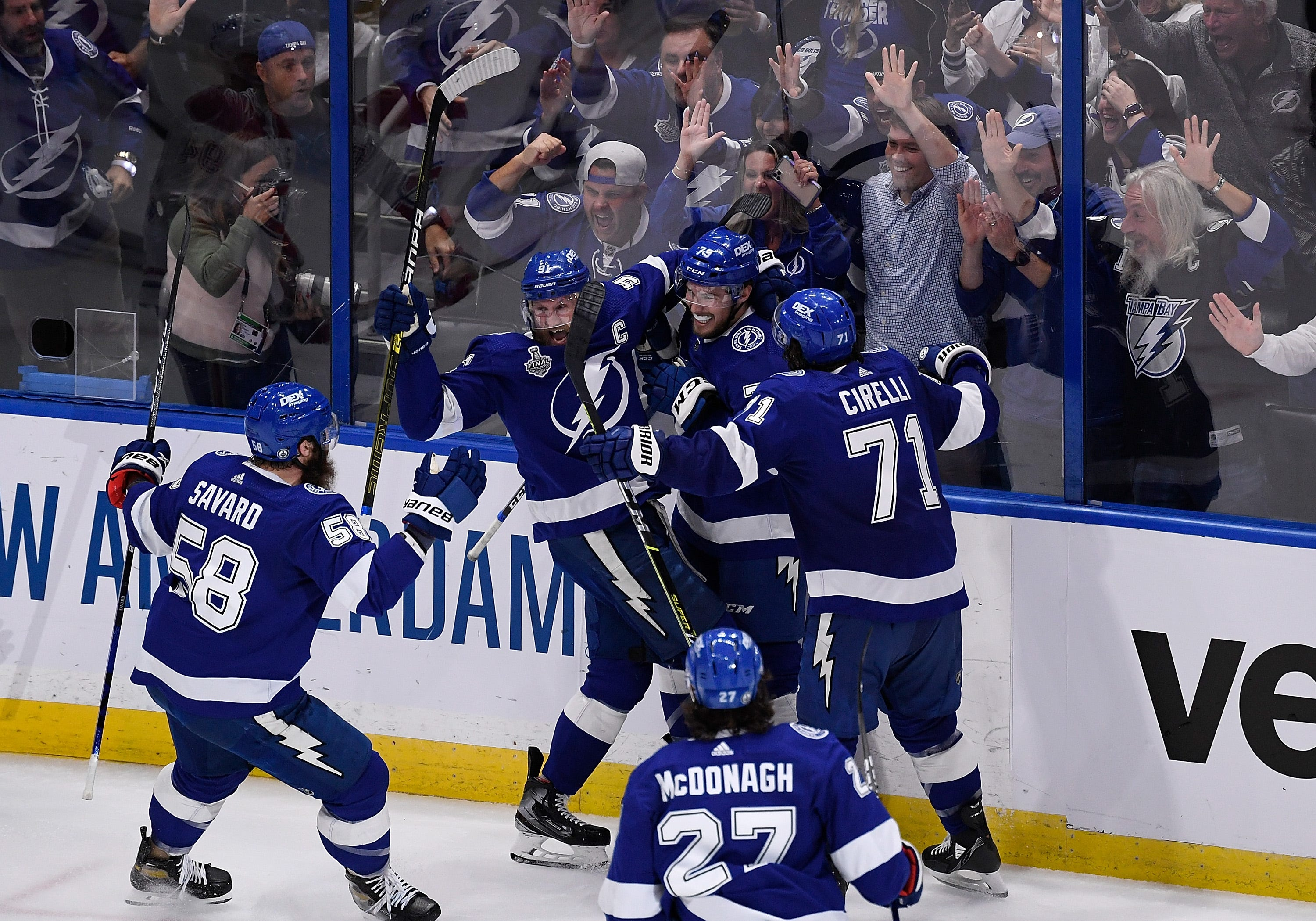 Tampa Bay Lightning repeat as Stanley Cup champions with Game 5 win against Montreal Canadiens