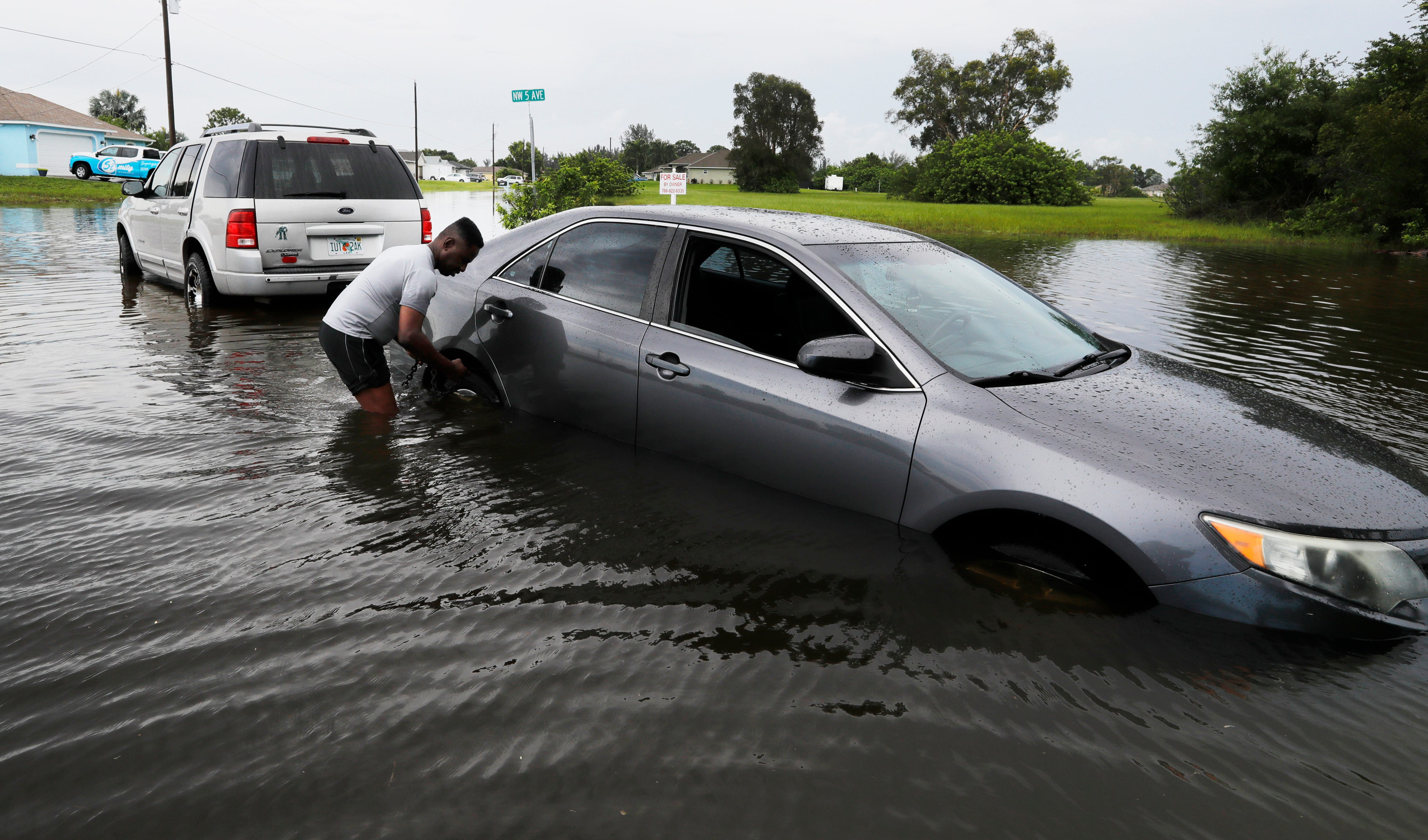 Tropical Storm Elsa slams East Coast; at least 1 dead in Florida and 10 injured in Georgia