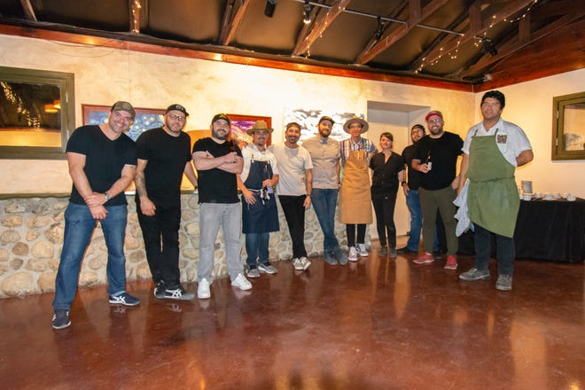 A collection of chefs from El Paso gathered for their first dinner in 2019 and will convene again Sunday.