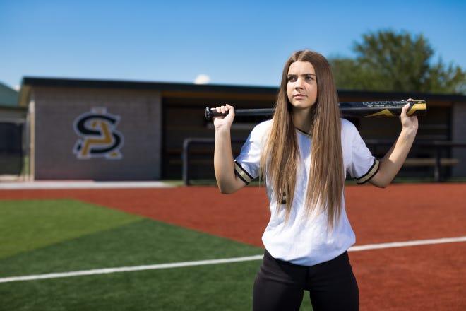 Amarillo High's Tatem Pendergraft was named the Amarillo Globe-News Softball Newcomer of the Year.