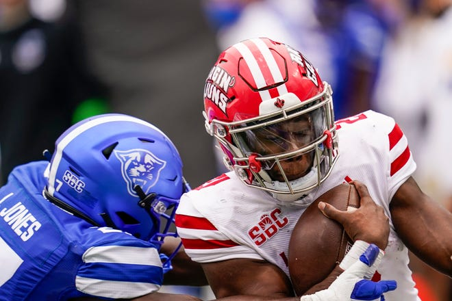 Louisiana running back Chris Smith enters his fourth year with the Ragin' Cajuns but his first as a starter. He spent the past few seasons playing behind Elijah Mitchell and Trey Ragas, both of whom now are NFL rookies.