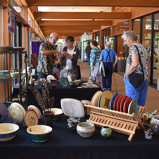 Reiman Gardens' annual Garden Art Fair will be held Sunday from 10 a.m. to 4 p.m.
