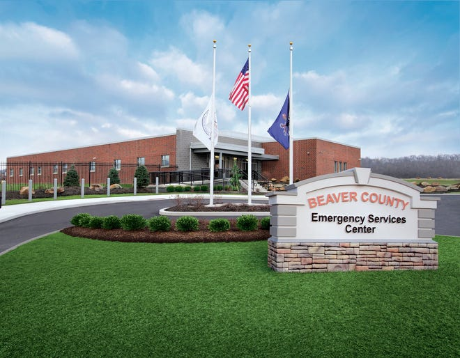 Beaver County Commissioners are looking to build a hazmat garage across from the Beaver County Emergency Services Center in Ambridge.