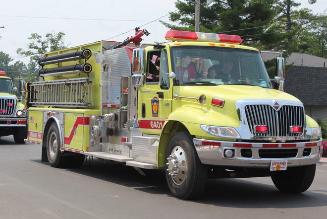 The Topinabee Fire Department currently provides fire protection services to most of Mullett Township and the eastern half of Burt Township. Burt and Mullett townships are currently working on negotiating a contract for the fire department to continue providing those services to Burt Township.