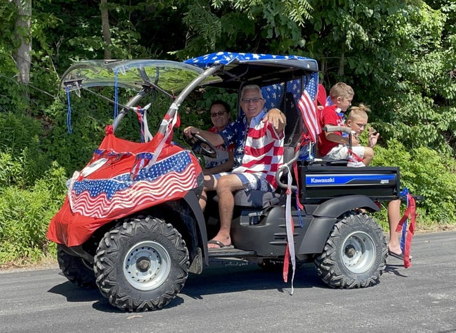 The folks at Seneca Drums in Himrod always have a lot of fun with their annual Fourth of July Golf Cart Parade on Plum Point