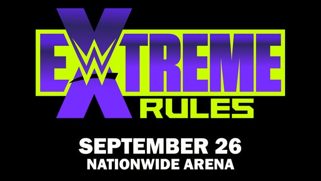 WWE Extreme Rules event will take place Sept. 26 at Nationwide Arena