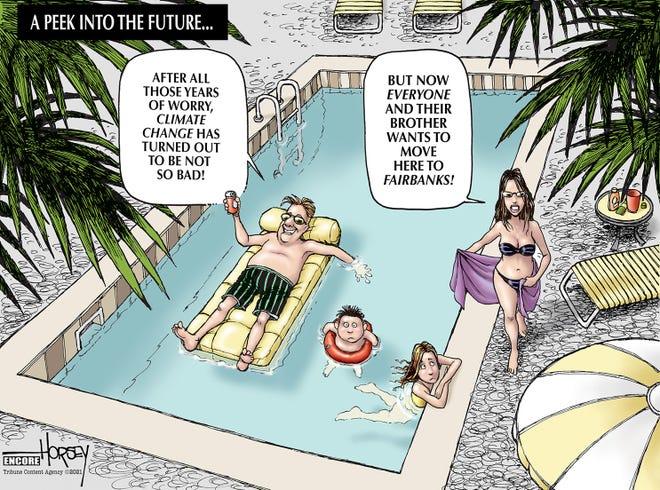 David Horsey climate change cartoon