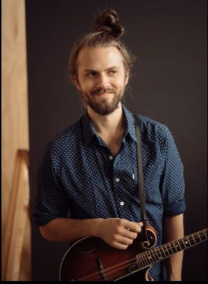 Jacob Jolliff is a member of the bluegrass trio set to perform at Harmony in the Woods, July 17. / Contributed image