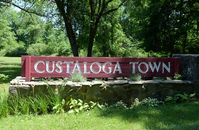 The entrance to the Custaloga Town Scout Reservation in Carlton, Mercer County. The camp serves Scouts in six counties in northwestern Pennsylvania.