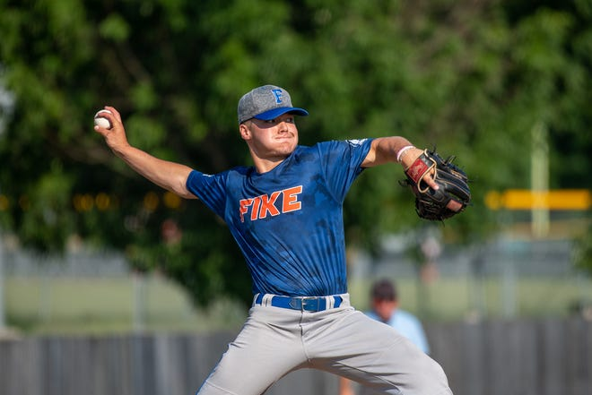 Trent Trieb has been one of the top pitchers for Blue Springs Post 499 Fike, which heads into Wednesday's Zone 2 Tournament as the top seed after a 14-2 record in regular season league play.